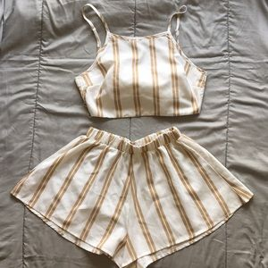 2 PC Set Summer Outfit